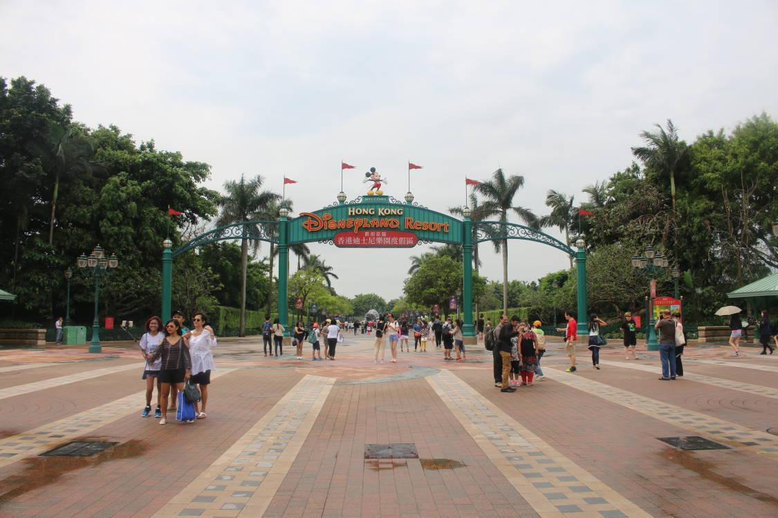迪士尼大门